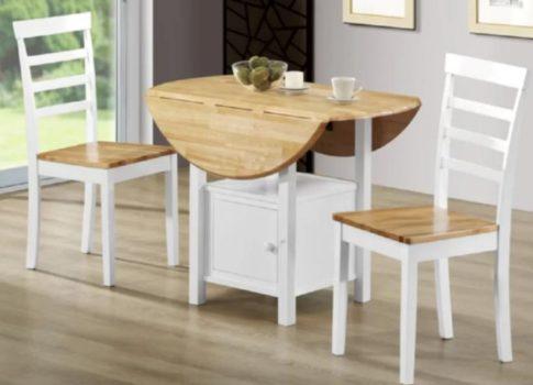 2 Seat - Round - Wooden