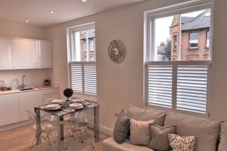 Cafe-Style Shutters