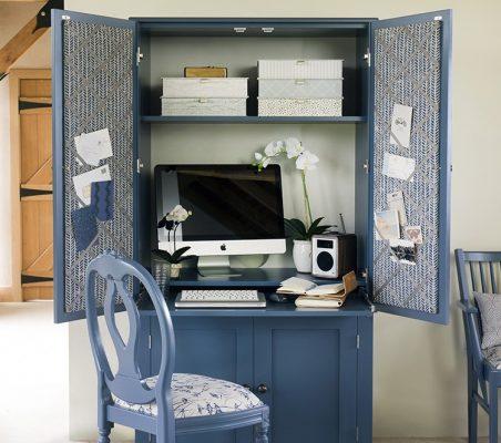 Office Cupboard - Blue
