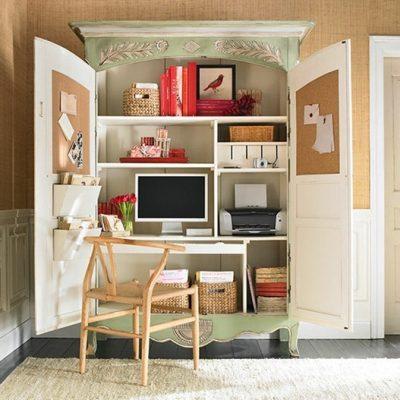 Office Cupboard - Green